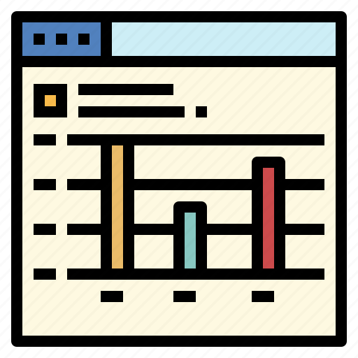 business, chart, graphic, line, statistics icon