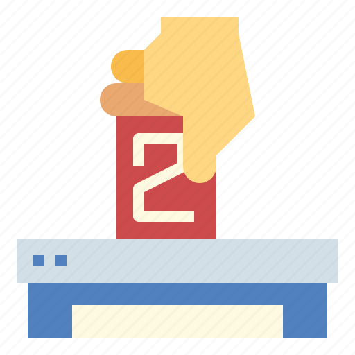 ballot, box, election, vote icon