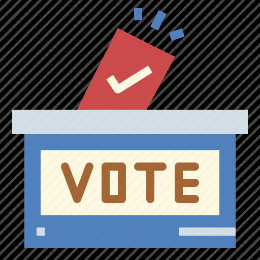 ballot, election, politician, vote icon