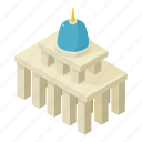 building, congress, house, isometric, object, usa, white