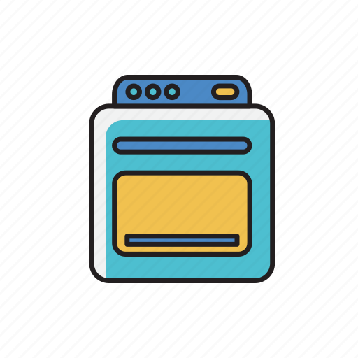 cooker, cooking, electric, machine, oven icon