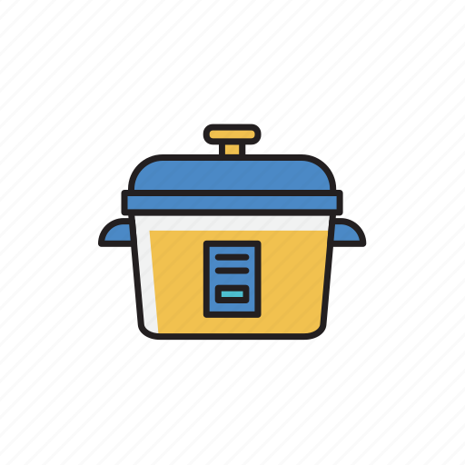 cooker, electric, machine, rice, rice cooker icon