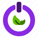 clean, computer, eco, energy, power icon