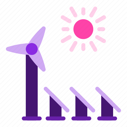 Energy, panel, renewable, solar, sun, windmill icon - Download on Iconfinder