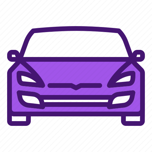 auto, car, electric, front, tesla icon