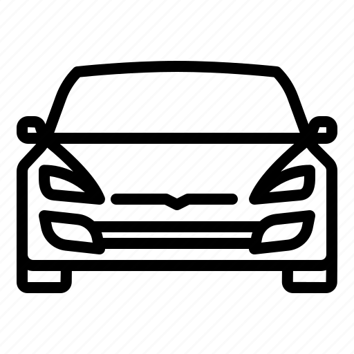Auto, car, electric, front, tesla icon - Download on Iconfinder
