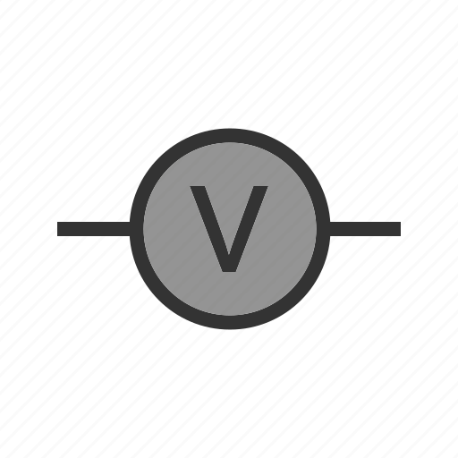 battery, car, device, electrical, industrial, meter, voltmeter icon