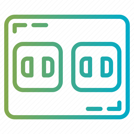 Electric, plugin, socket, technology icon - Download on Iconfinder