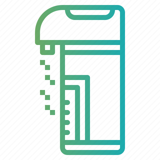 boiler, boiling, electrical, water icon