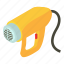 building, construction, d454, dryer, electric, isometric, object