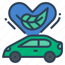ev, ecology, car, environment, environmental, environmentally friendly, electric vehicle icon