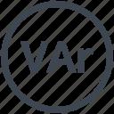 electric, electrical instrumentation, varmeter, diagram, circuit, electronic icon