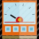 electricity, gage, gauge, measure, metmer, volt