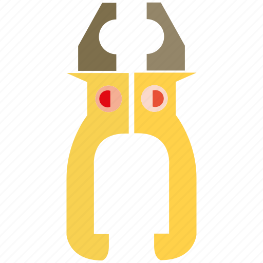 cut, plier, tool icon