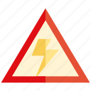 electricity, thunder, warning, caution