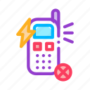broken, mobile, phone, smartphone icon