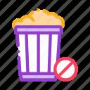 basket, cart, shopping, trash icon
