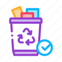 delete, document, recycling, remove, trash