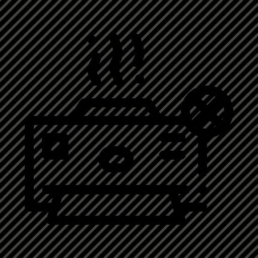 broken, printer icon