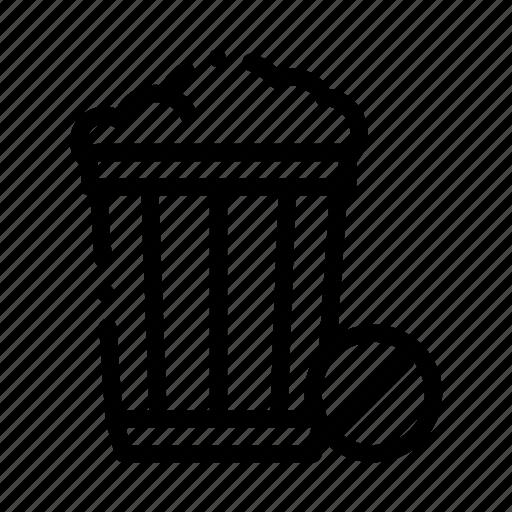 basket, trash icon