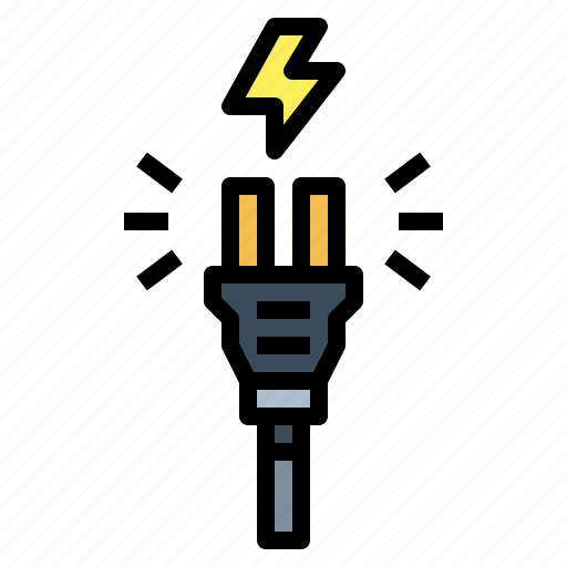 Cable, electronics, plug, technology icon - Download on Iconfinder