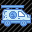 car, electrician, jobs, professions, service, transportation