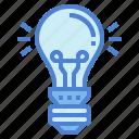 electronics, illumination, lightbulb, technology