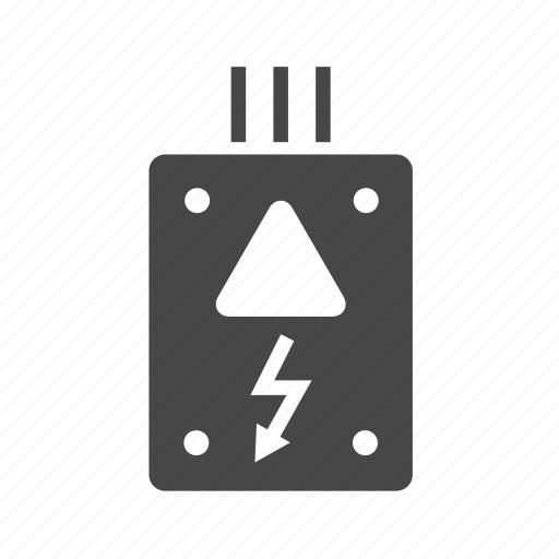 box, cable, electricity icon