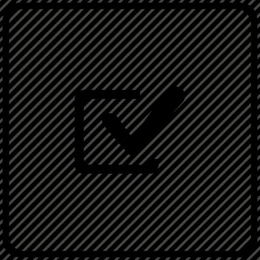 accept, agree, check, checkbox, confirm, key icon