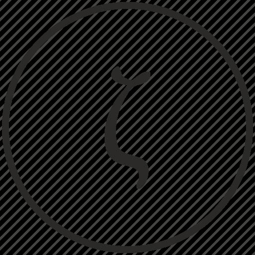 alphabet, greek, letter, zeta icon