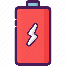 battery, charge, charging, device, electrical, electricity icon