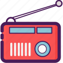 audio, electric, radio, transmitter icon