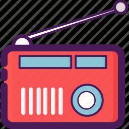 audio, electric, radio, transmitter icon
