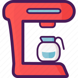 coffe, device, electric, home, machine icon