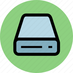 cd, computer, device, disk, driver icon