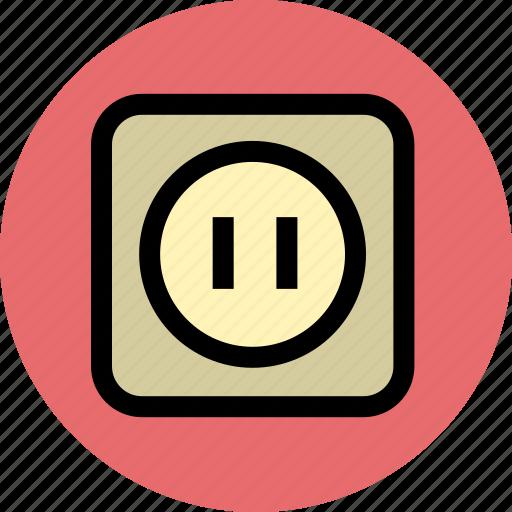 plug, plugin, power, socket icon