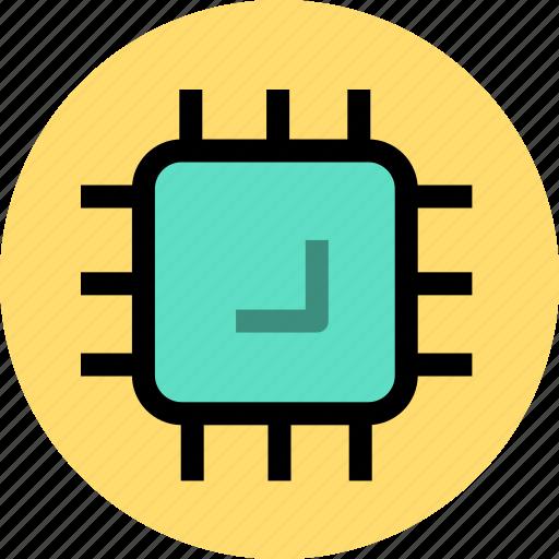 computer, cpu, electron, processer, processor icon