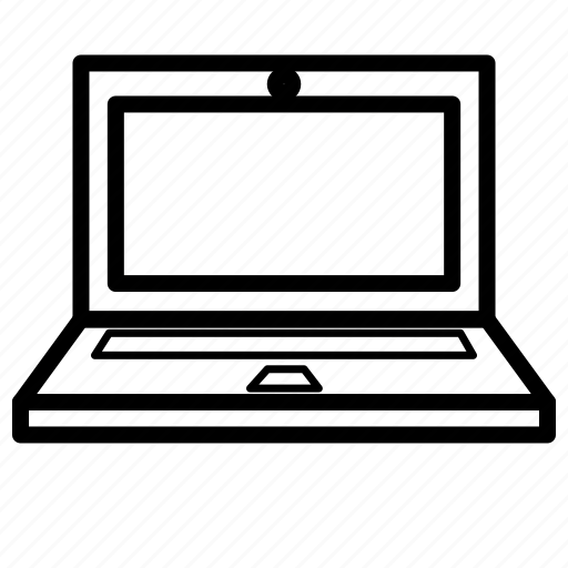 computer, electronic, laptop, netbook, notebook icon