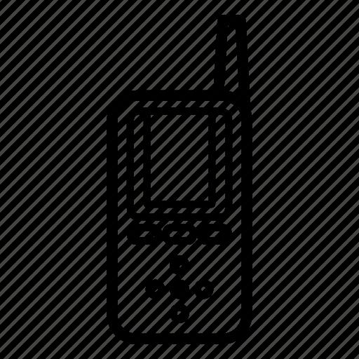 communication, electronic, phone, talkie, walkie, walkie talkie icon