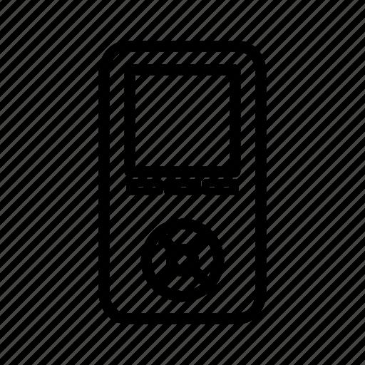 earphone, electronic, mp3, music, song icon