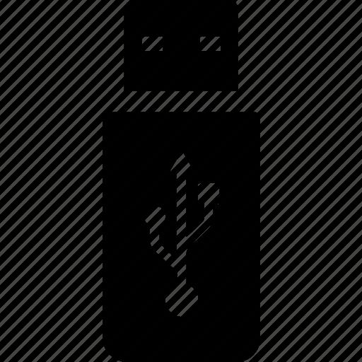 computer, drive, file, thumb, transfer, usb icon