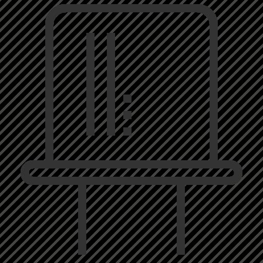 crystal, electronic, oscillators, tool icon