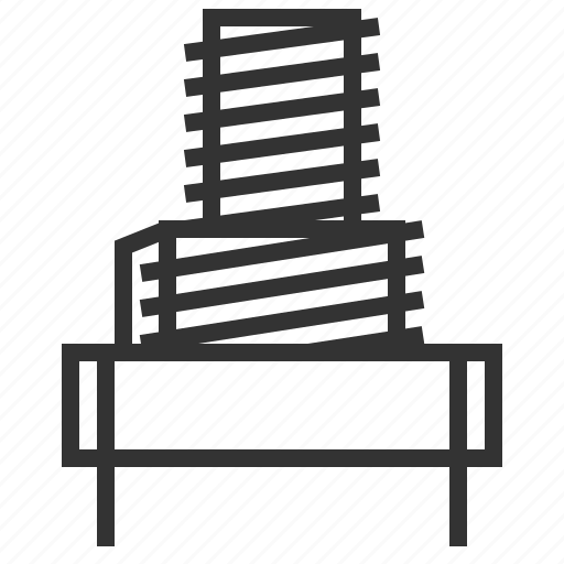 coil, computer, device, electronic, technology icon
