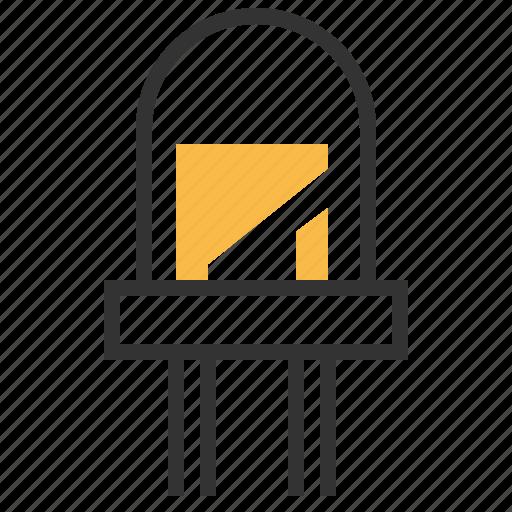 device, electronics, led, technology, tool icon