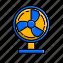 electronic, fan, air, gadget