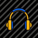 electronic, headset, earphone, headphone