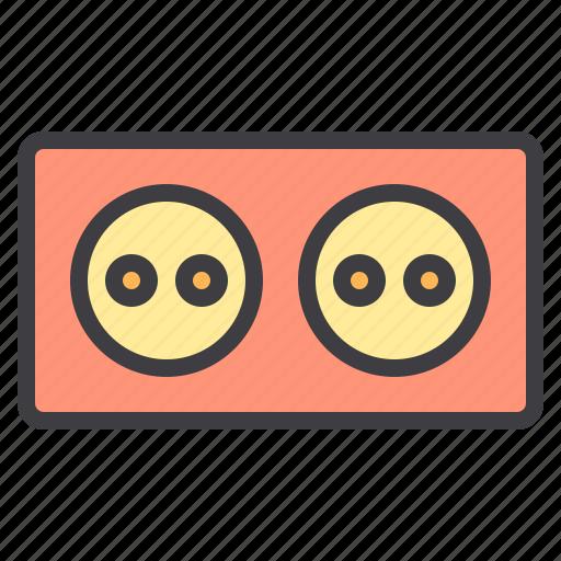 device, electronic, plug, technology icon