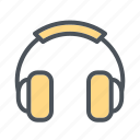 devices, earphone, electronic, headphone icon, headset, music icon icon
