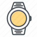 clock, devices, electronic, smart watch, time, watch icon icon
