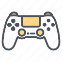 controller, devices, electronic, game, joystick, playstation icon icon